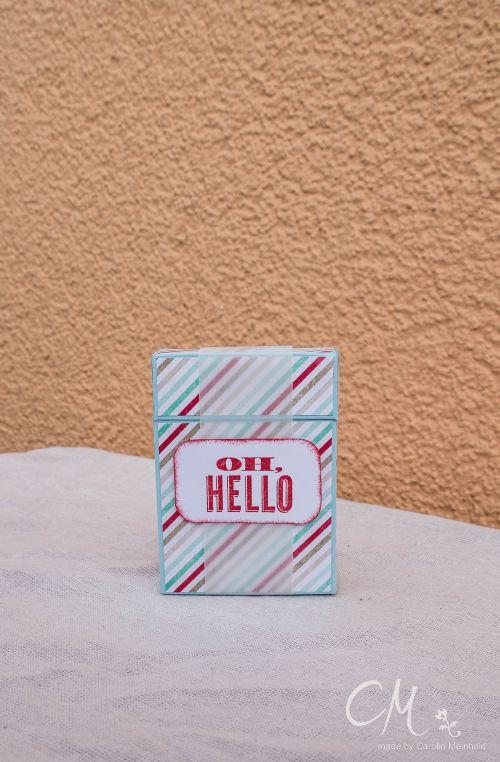 Caros Bastelbude: kleine Verpackung mit Tutorial