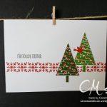 Caros Bastelbude: Adventskalender Türchen Nr. 5, Grußkarten Geschenkbox, Tutorial