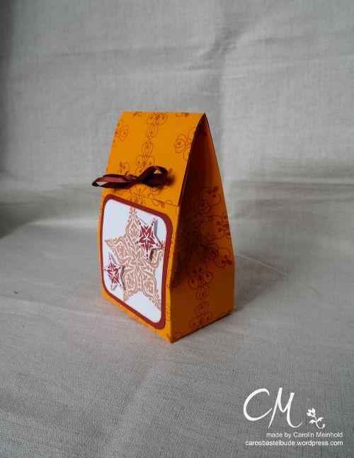 Caros Bastelbude: Adventskalender Türchen Nr. 16, 2-5-7-10 Box, Stampin' Up!, Weiße Weihnacht, Zauber der Weihnacht