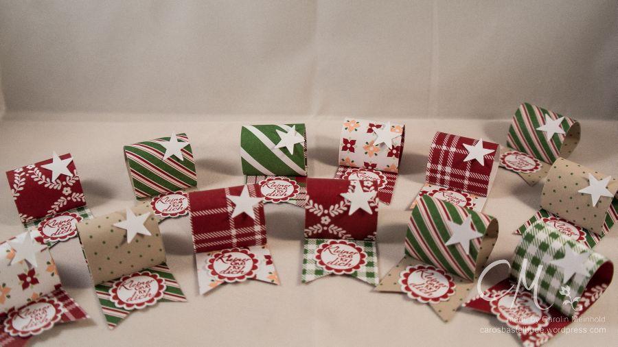 Caros Bastelbude: Adventskalender Türchen Nr. 19 Goodies für Weihnachtsfeier