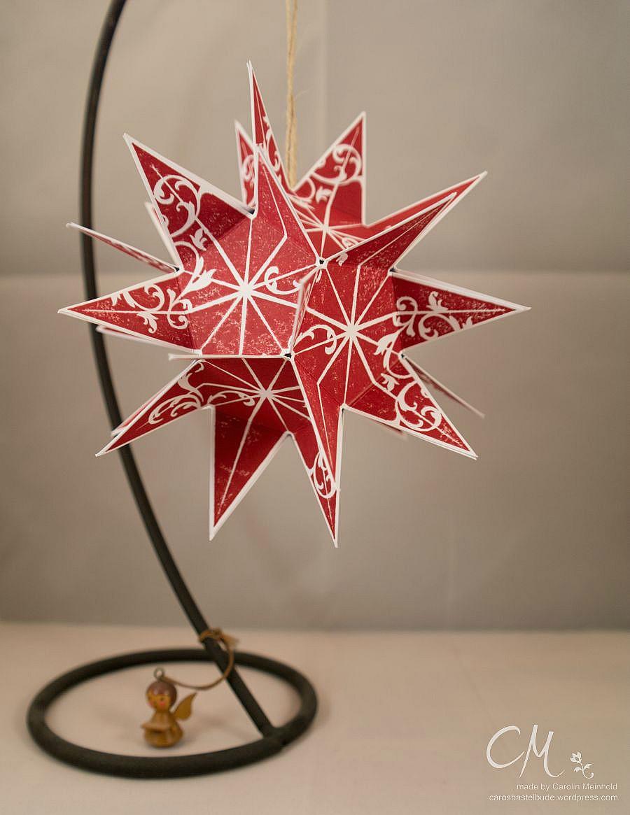 Caros Bastelbude: Adventskalender Türchen Nr. 24, Weihnachtsstern