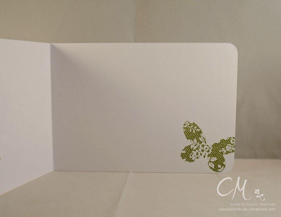 Caros Bastelbude: Kartenbox zu Weihnachten, Set Schmetterlingsgruß von Stampin' Up!!, Petite Petal, Gorgeous Grunge