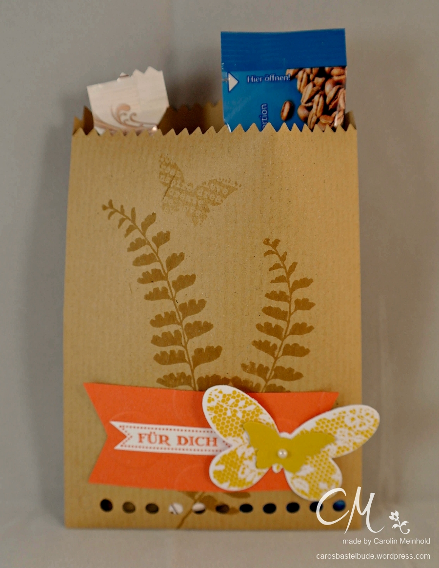 Caros Bastelbude: Goodies, Mini-Leckereientüte Stampin' Up!