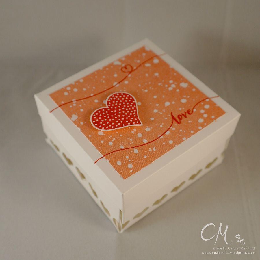 Caros Bastelbude: Stampingirls Smart Saturday #64,, Verpackung Valentinstag