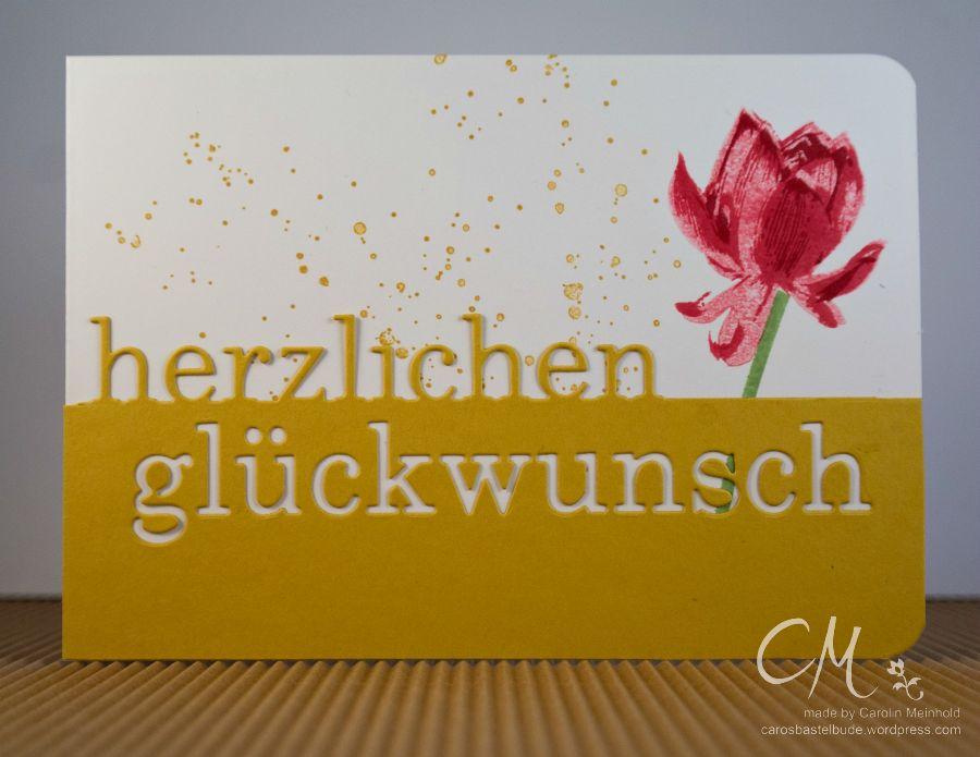 Caros Bastelbude: Creativmesse München, Memory Box Grand Herzlichen Glückwunsch
