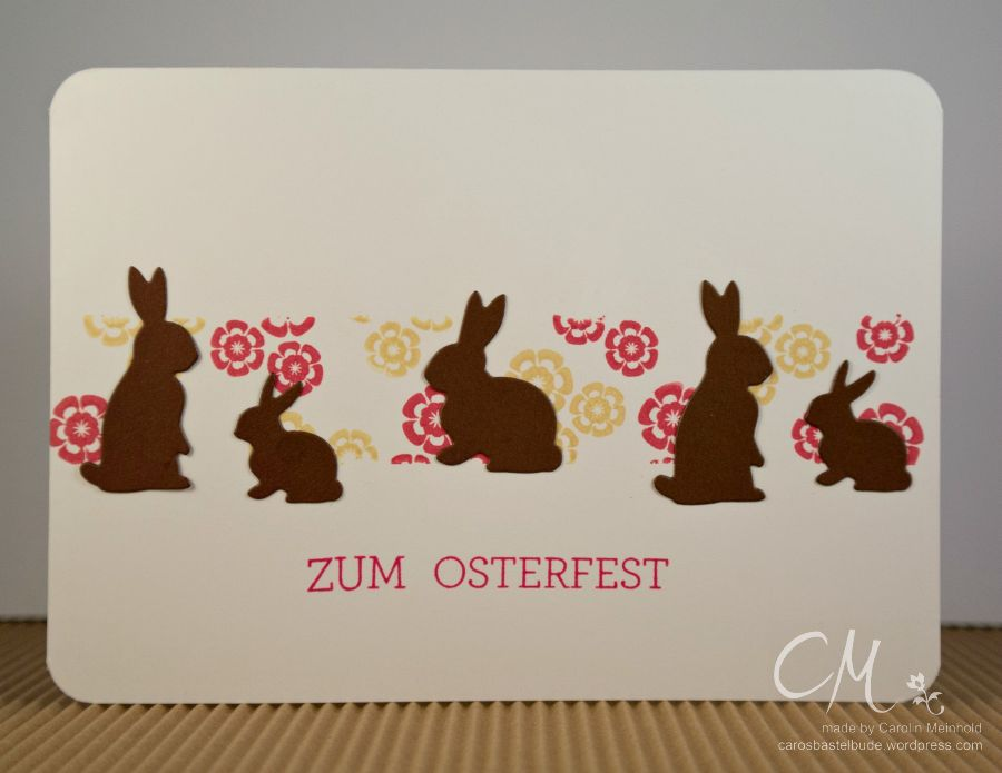 Caros Bastelbude: Creativmesse München,  Memory Box Springtime Bunnies