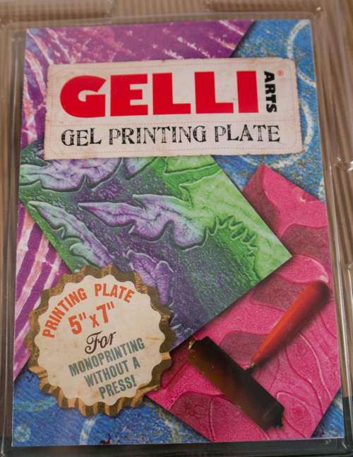 Caros Bastelbude: Gelli Plate