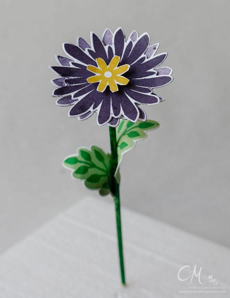 Stampingirls Smart Saturday: Gartenparty, Tischdekoration, Blumenstrauß mit dem Set Flower Patch #CarosBastelbude #StampinUp carosbastelbude.wordpress.com