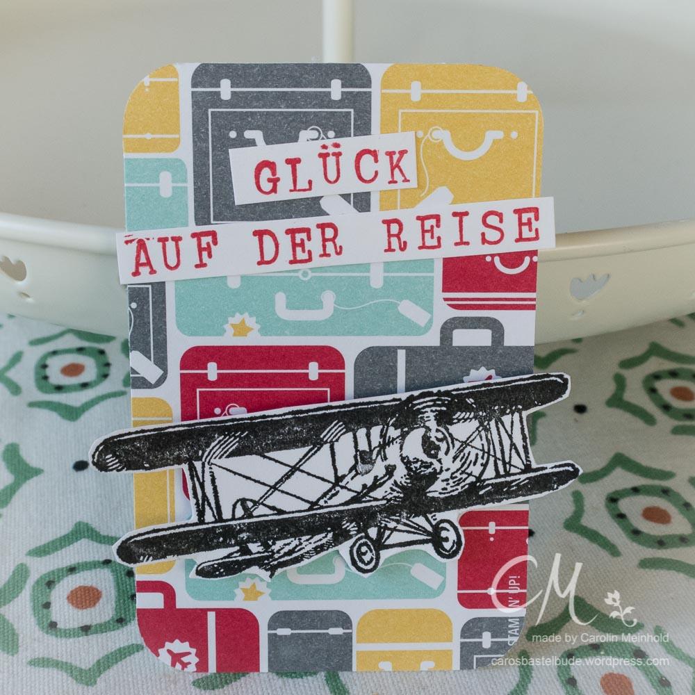 Koffer voll Glück als Abschiedsgeschenk #CarosBastelbude carosbastelbude.de