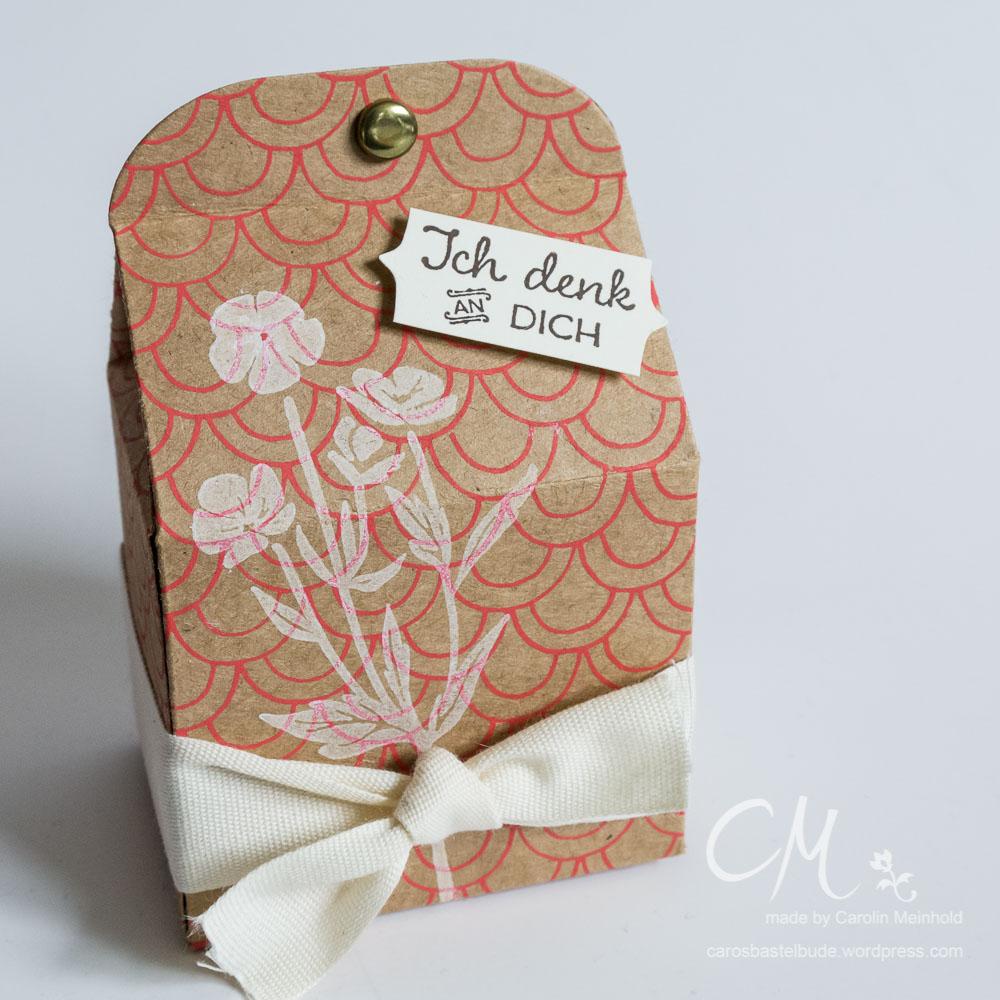 Leckereien-Box als Geschenkverpackung #CarosBastelbude carosbastelbude.de