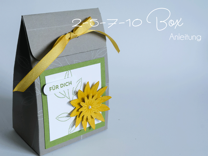 2-5-7-10 Box mit Stempelset So dankbar #CarosBastelbude