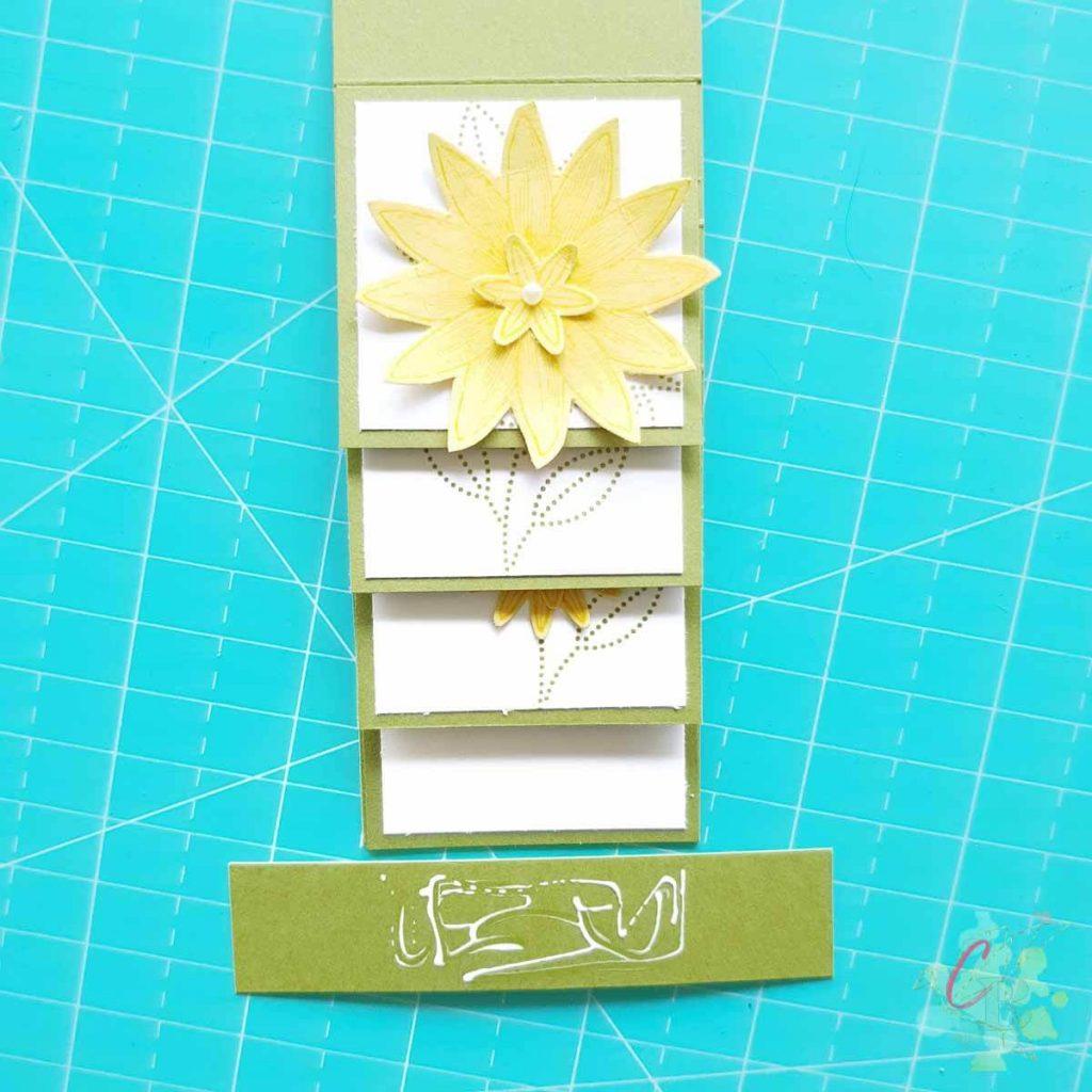 Wasserfallkarte gestaltet mit dem Stempelset So dankbar von Stampin' Up!