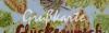 Grußkarte mit Vintage Leaves
