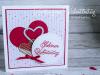 Grußkarte zum Valentinstag mit besonderem Innenleben