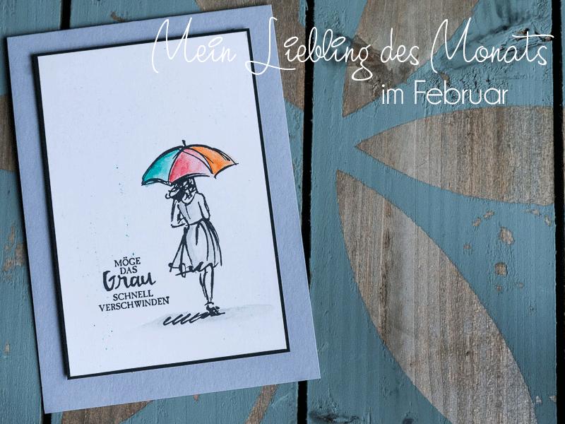 Mein Liebling des Monats im Februar - eine Idee von Dana Rekow mit dem Stempelset Mit Stil #CarosBastelbude