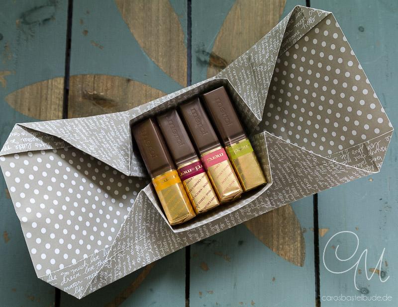 Brief Falten Ohne Kleben : Origamibox ohne kleben · caros bastelbude
