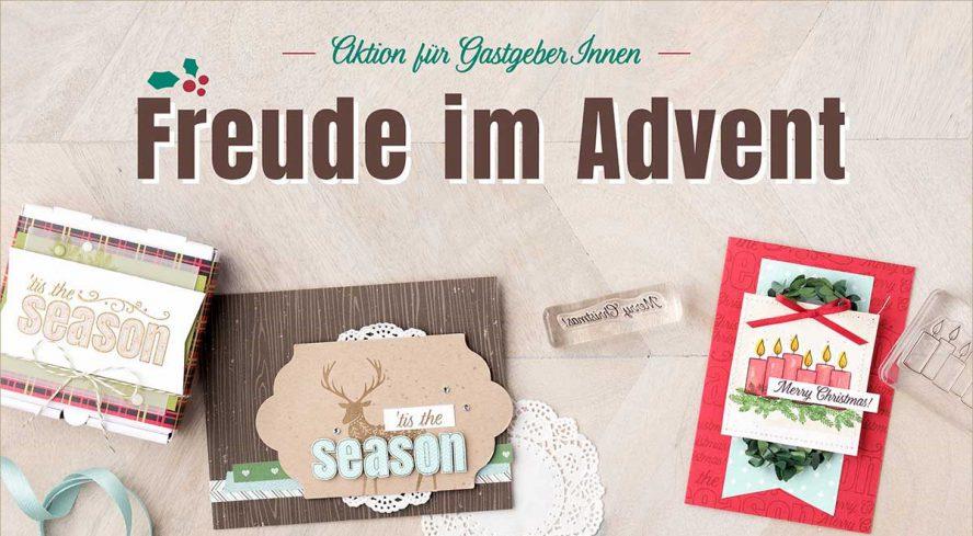 Aktion für Gastgeberinnen Freude im Advent