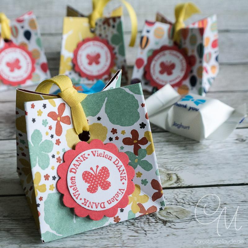 Goodies als kleines Geschnk für die Geburtstagsgäste #CarosBastelbude
