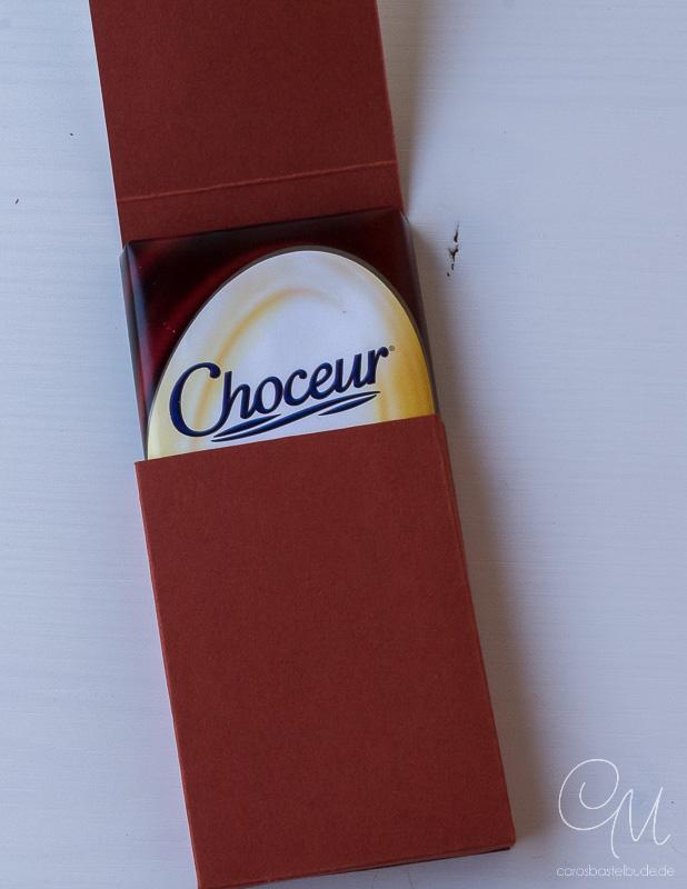 Verpackung für Schokolade gestaltet mit Count My Blessings von Stampin' Up!, Occassion Catalog 2017 #CarosBastelbude