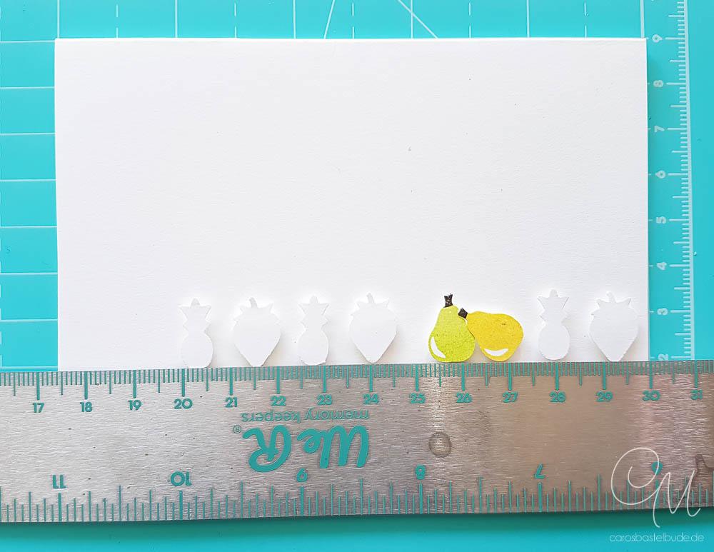 Grußkarte gestaltet mit dem Set Gute-Laune-Korb von Stampin' Up! nach einer Idee von Handmade by Fiona #CarosBastelbude