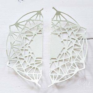 Zierdeckchen selbst gemacht mit den Thinlits-Formen Zarte Zierde von Stampin' Up!