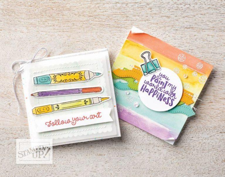 Stampin' Up! Produktbeispiel Grußkarte