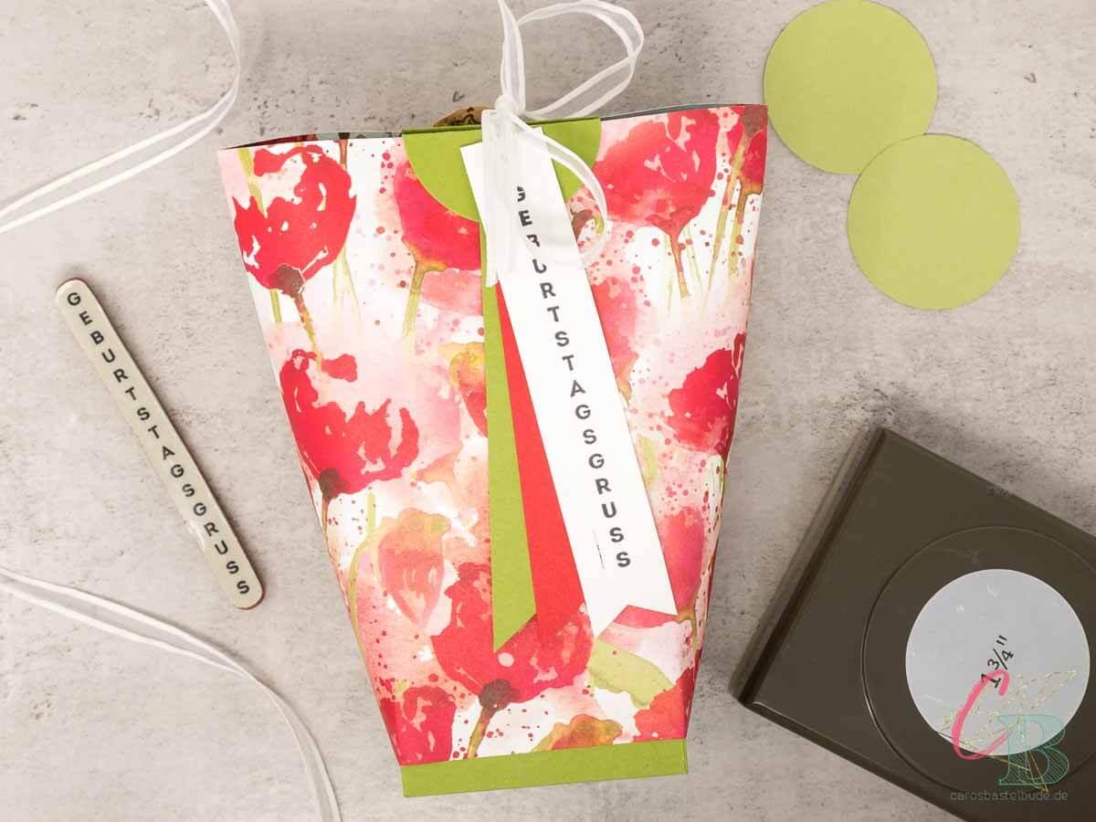 Die Box in a Bag als Geburtstagsgeschenk