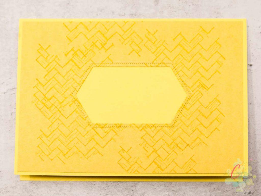 Trauerkarte gestaltet mit dem Stempelset Trost und Kraft von Stampin' Up!, erste Lage