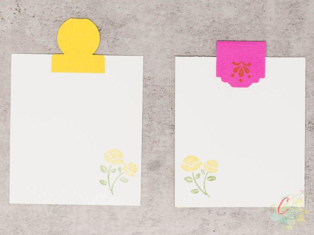 Umschlag für Geldgeschenk gestaltet mit dem 6 x 6 Inch Designerpapier von Stampin' Up! in den In Color 2020-22