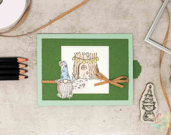 Slider Karte als Geldgeschenk oder Verpackung für eine Geschenkkarte