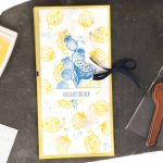 Geschenkverpackung für Schokolade und Tee gestaltet mit dem Stampin' Up! Stempelset Ganz im Augenblick