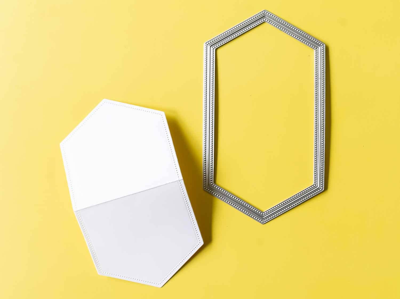 Den Deckel herstellen mit den Stanzformen Raffiniert Bestickte Rahmen von Stampin' Up!